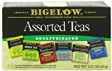 Bigelow Decaffeinated Assorted Teas, 18-Count Boxes (Pack of 6)